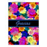 Thank You Spanish w/ blank inside Card