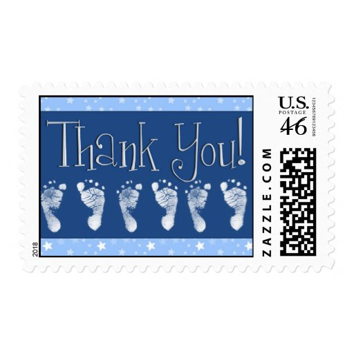 Thank you stamps for baby shower