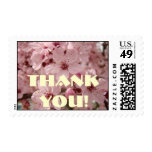 Thank You! stamps Pink Blossoms Spring Postage