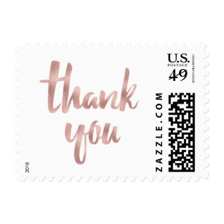 Thank you stamps- small postage