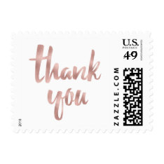 Thank You Stamps- Small Postage at Zazzle