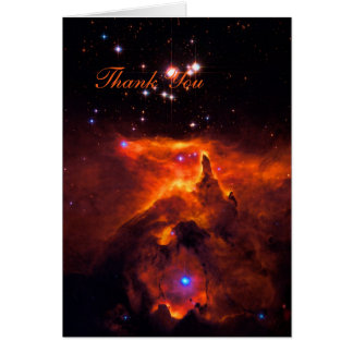 Thank You - Star Cluster Pismis 24 Card
