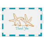 Thank You Starfish Greeting Card
