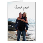 Thank you! stationery note card