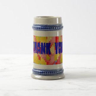 Thank you stein mugs