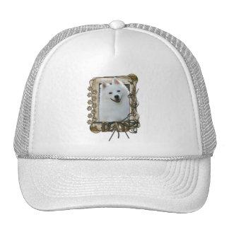 Thank You - Stone Paws - American Eskimo - Dad Trucker Hats