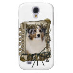 Thank You - Stone Paws - Australian Shepherd - Dad Samsung Galaxy S4 Cover