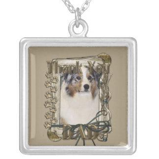 Thank You - Stone Paws - Australian Shepherd - Dad Custom Jewelry