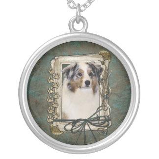 Thank You - Stone Paws - Australian Shepherd Necklaces