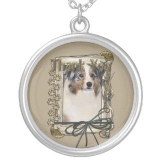 Thank You - Stone Paws - Australian Shepherd Custom Jewelry
