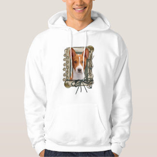 Thank You - Stone Paws - Basenji Pullover