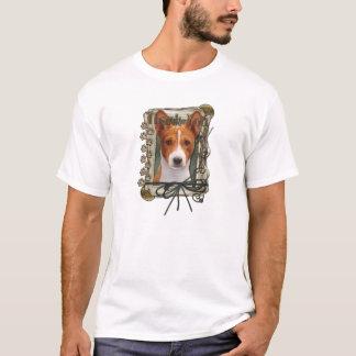 Thank You - Stone Paws - Basenji T-Shirt