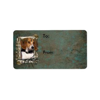 Thank You - Stone Paws - Beagle Label