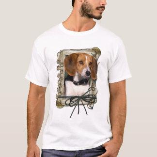 Thank You - Stone Paws - Beagle T-Shirt