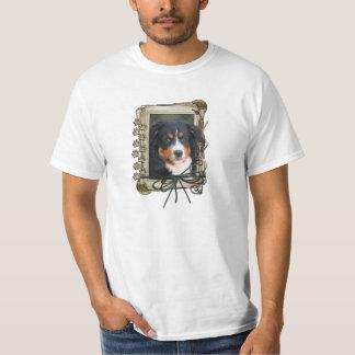 Thank You - Stone Paws - Bernese Mountain Dog T-Shirt