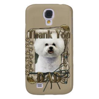 Thank You - Stone Paws - Bichon Frise - Dad Samsung S4 Case
