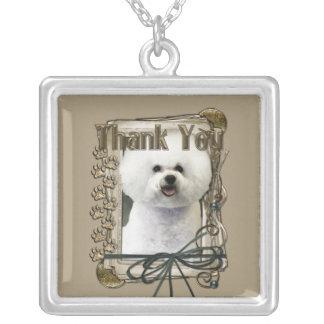 Thank You - Stone Paws - Bichon Frise Necklaces