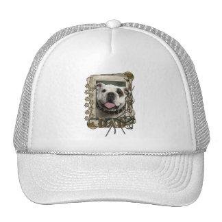 Thank You - Stone Paws - Bulldog - Dad Hats