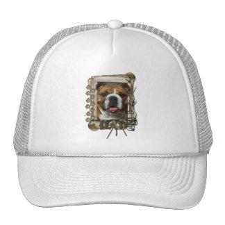 Thank You - Stone Paws - Bulldog - Dad Hat