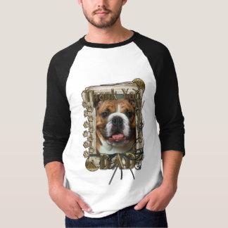 Thank You - Stone Paws - Bulldog - Dad T-Shirt