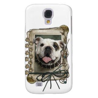 Thank You - Stone Paws - Bulldog Galaxy S4 Case