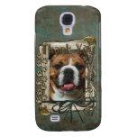 Thank You - Stone Paws - Bulldog Galaxy S4 Cases