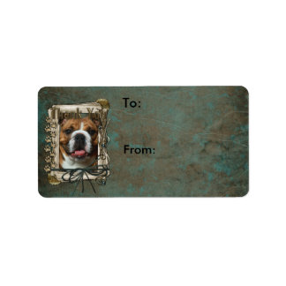 Thank You - Stone Paws - Bulldog Label