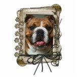 Thank You - Stone Paws - Bulldog Photo Cut Out