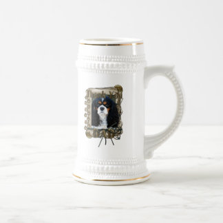 Thank You - Stone Paws - Cavalier - Dad Beer Stein