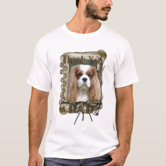 Thank You - Stone Paws - Cavalier - Dad T-Shirt