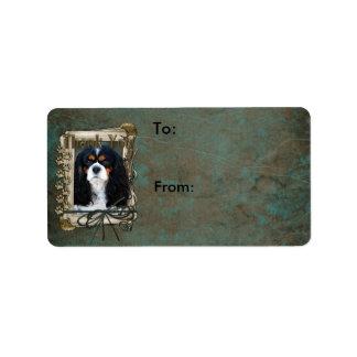 Thank You - Stone Paws - Cavalier Custom Address Labels