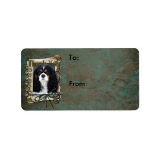 Thank You - Stone Paws - Cavalier Label