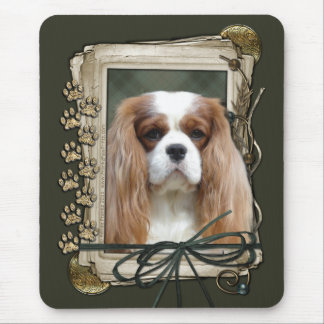 Thank You - Stone Paws - Cavalier Mouse Pad