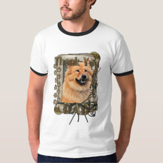 Thank You - Stone Paws - Chow Chow - Cinny - Dad T-Shirt