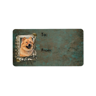 Thank You - Stone Paws - Chow Chow - Cinny Label
