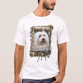 Thank You - Stone Paws - Coton de Tulear - Dad T-Shirt