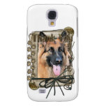 Thank You - Stone Paws - German Shepherd - Chance Galaxy S4 Covers