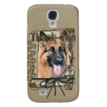 Thank You - Stone Paws - German Shepherd - Chance Samsung Galaxy S4 Cases