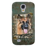 Thank You - Stone Paws - German Shepherd - Chance Samsung Galaxy S4 Covers