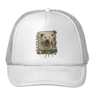Thank You - Stone Paws - GoldenDoodle - Dad Hat