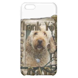 Thank You - Stone Paws - GoldenDoodle - Dad iPhone 5C Cases