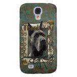 Thank You - Stone Paws - Great Dane - Grey Galaxy S4 Cover