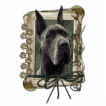 Thank You - Stone Paws - Great Dane - Grey Cut Outs