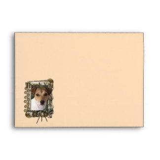 Thank You - Stone Paws - Jack Russell - Dad Envelope
