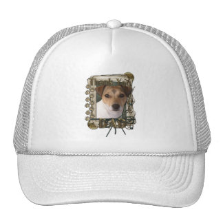 Thank You - Stone Paws - Jack Russell - Dad Trucker Hat