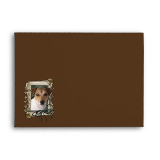 Thank You - Stone Paws - Jack Russell Envelope
