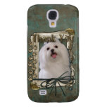 Thank You - Stone Paws - Maltese Samsung Galaxy S4 Cases