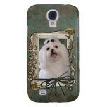 Thank You - Stone Paws - Maltese Galaxy S4 Covers