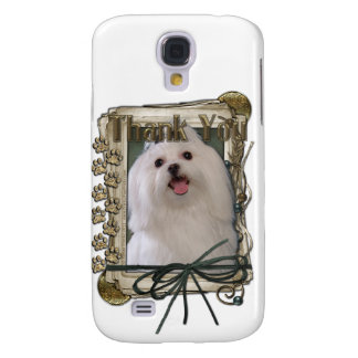 Thank You - Stone Paws - Maltese Samsung Galaxy S4 Cover