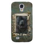 Thank You - Stone Paws - Newfoundland Galaxy S4 Case